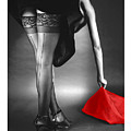 Glorious Gams - Seeing Red by Jerry Taliaferro