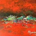 Glorious Red by Priyanka Ray