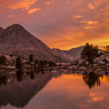 Glorious Sierra Sunset by Doug Scrima