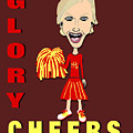 Glory Cheers by Pharris Art