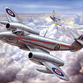 Gloster Meteor by Dorothy Binder