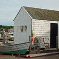 Gloucester Boat House by Suzanne Gaff