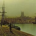 Gloucester Docks by John Atkinson Grimshaw