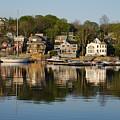 Gloucester Harbor I by Davie Gordon