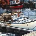 Gloucester Harbor by Michael McDougall