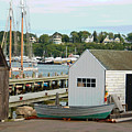 Gloucester Harbor Scene by Suzanne Gaff