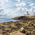 Gloucester Lighthouse 2 by John M Bailey