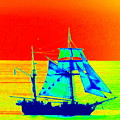 Glow Ship 7 Photograph by Kimberly Walker