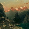 Glowing Alps by Stanislaus