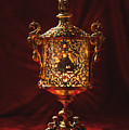 Glowing Antique Lantern by Amanda Elwell