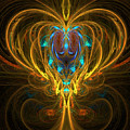 Glowing Chalise by Sandra Bauser Digital Art