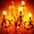 Glowing Chandelier by Carol Groenen
