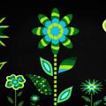 Glowing Garden 1 by Angelina Tamez