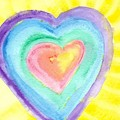 Glowing Heart by Peggy Ann Serena Hemmer