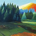 Glowing Hill by Gary Coleman