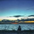 Glowing Horizon by Michelle Meenawong