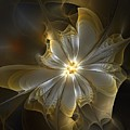 Glowing In Silver And Gold by Amanda Moore