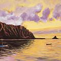 Glowing Kualoa Diptych 2 Of 2 by Patti Bruce - Printscapes