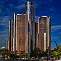 Gm And Marriot Monster In Detroit by Chris Lord
