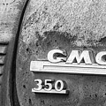 Gmc 350 Tag Bw by Jerry Fornarotto