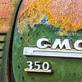 Gmc 350 Tag by Jerry Fornarotto