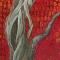 Gnarly Autumn Tree by Wanda Pepin