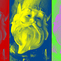 Gnomes In Crazy Color by Jennifer Coleman