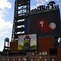 Go Phillies - Citizens Bank Park - Left Field Gate by Bill Cannon
