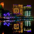 Go Ravens Baltimore Inner Harbor by Dennis Dame