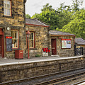 Goathland Railway Station, Train Station From Harry Potter by Patricia Hofmeester