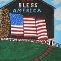 God Bless America Barn by Jeffrey Koss