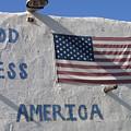 God Bless America Flag Restaurant Chandler Arizona 2005 by David Lee Guss