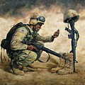 God Bless Our Troops by Dan  Nance