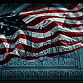 God Country Notre Dame American Flag by John Stephens