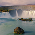 Godafoss In Iceland by Henk Meijer Photography