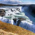 Godafoss Waterfall by Ceri Jones