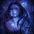 Goddess In Blue by Leanne Seymour