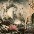 Goddess Of Bliss  by Gela Ghaderi