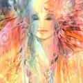Goddess Of Spiritual Abundance by Carolyn Utigard Thomas