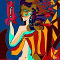 Gods Of Dream by Helene  Champaloux-Saraswati
