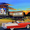 Goin' Steady - The Circle Drive-in Theatre by Randy Welborn