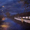 Going Home by Art Nomad Sandra  Hansen