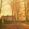 Going To Church by John Atkinson Grimshaw