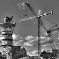 Going Up Midtown Atlanta Construction Art by Reid Callaway