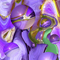 Orbs Of Light - Abstract Iris Marbles by Brooks Garten Hauschild