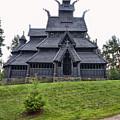 Gol Stave Church by Jens Lambert