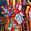 Gold-abstract-2 by Katerina Stamatelos