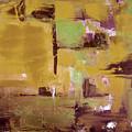 Gold Abstract by Gina De Gorna