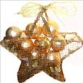 Gold Ball Star by Ellen Barron O'Reilly