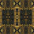 Gold Black Motorcycle by Tony Rubino